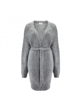 Sweter Sky Long Grey