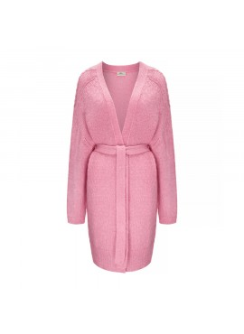 Sweter Sky Long Candy Pink