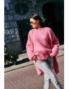 Sweater Sky Long Candy Pink